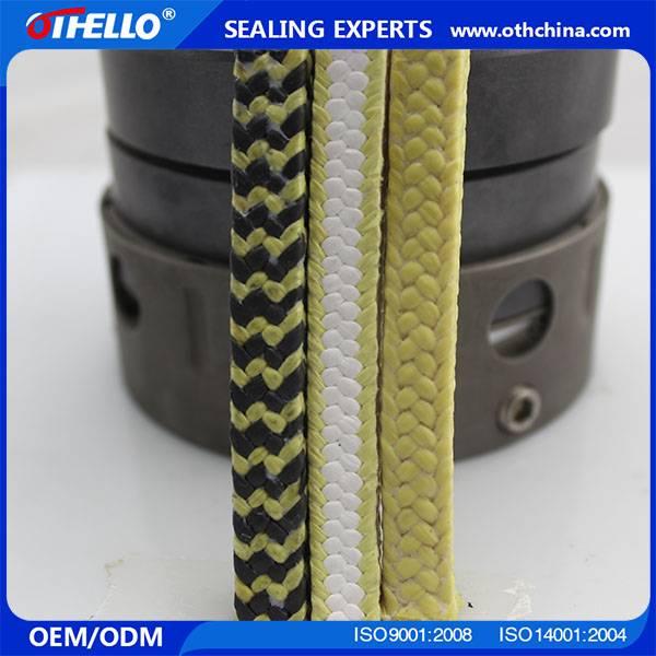 aramid packing High wear resistant Self lubricating aramid packing