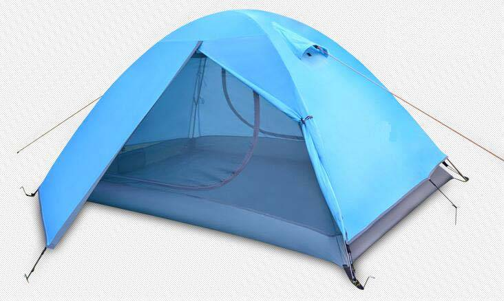 Camping tent outdoor tent Good style portable waterproof two person double layer