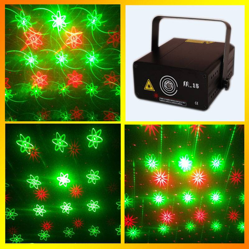 M-15RG stage lighting projector stage laser light with high quality and free shipping service