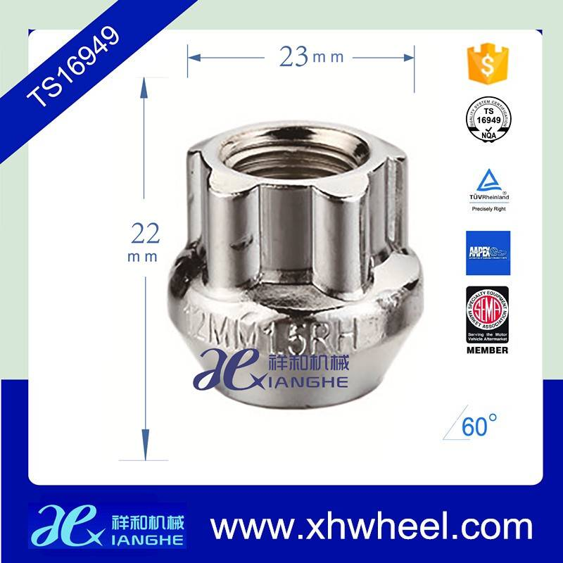 Chrome Wheel Nuts For Car