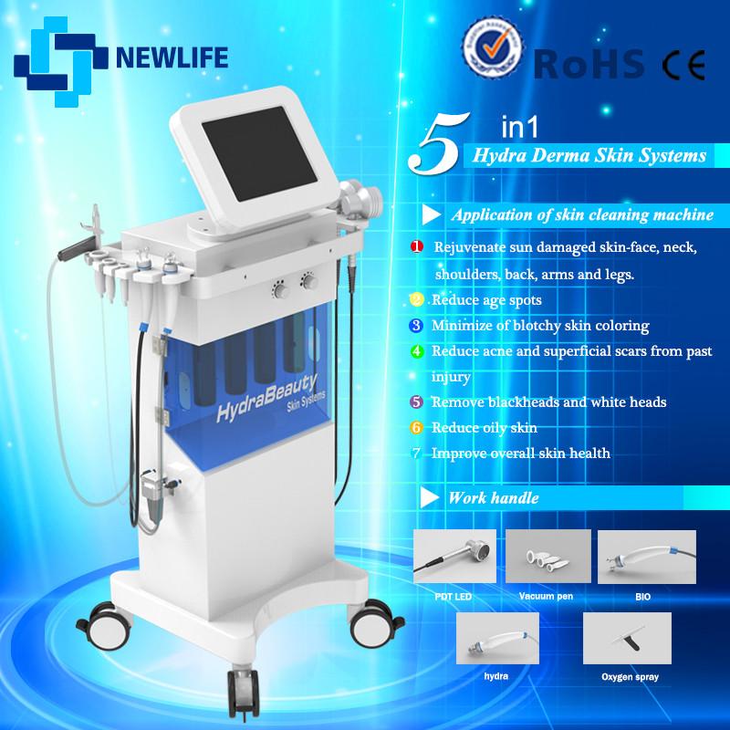 Hydra dermabrasion Aqua Microdermabrasion 5 in 1 Skin Renew Machine