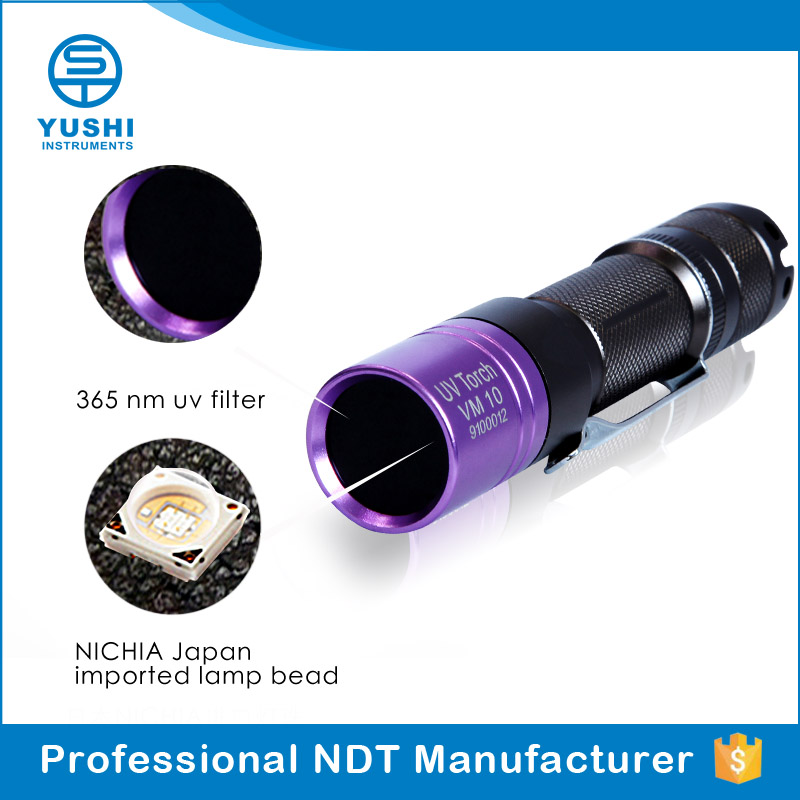 Industrial BlackLight Lamp Ultraviolet Flashlight 3W LED UV Light