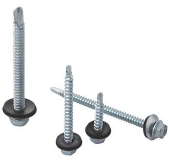 Hex Washer Head Drilling Screw with EPDM bonded washer