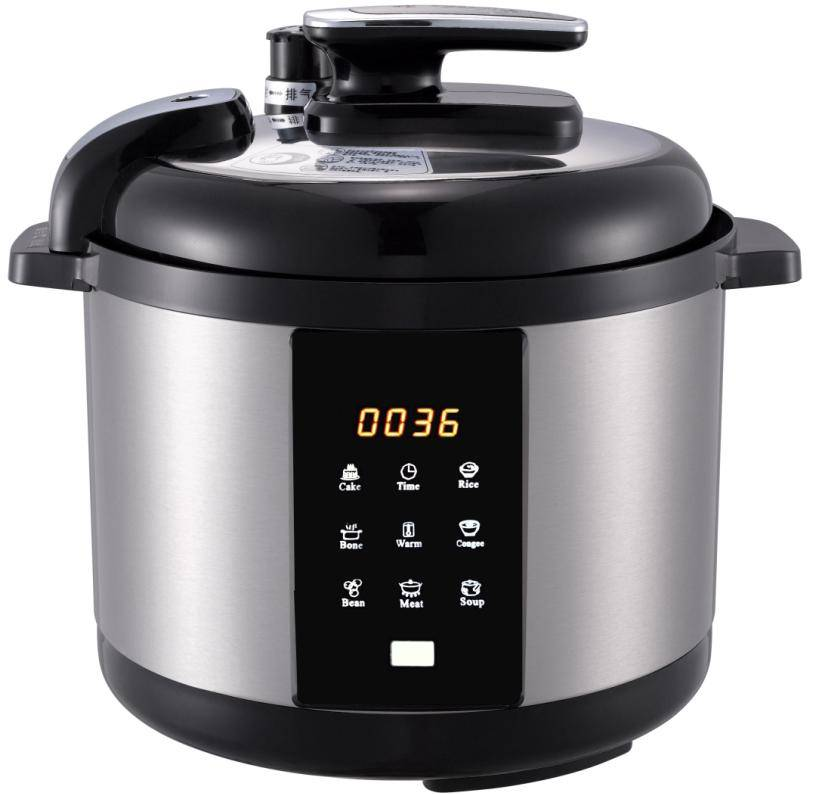 D6KFI 8-in-1 Aluminum Electric Pressure Cooker