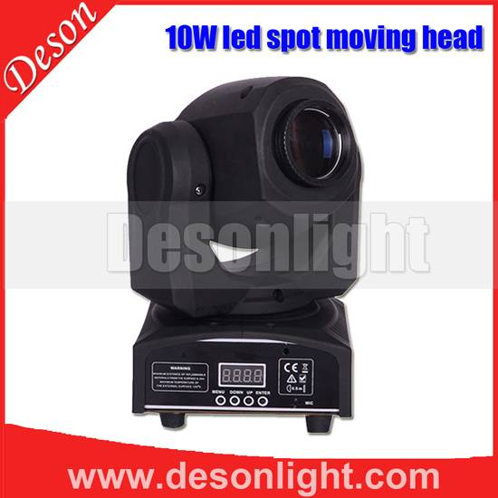 New 10W Mini led moving head Spotlight LM-010B