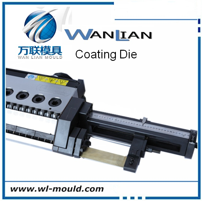 Lamination coating die head for extrusion coating plant