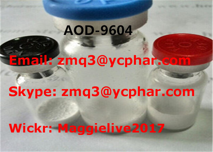 Medical Peptide Protein Hormones Aod 9604 / Hgh Fragment 177 191 CAS 221231-10-3