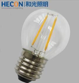 G45 1.8w/4w E27 LED filament bulb