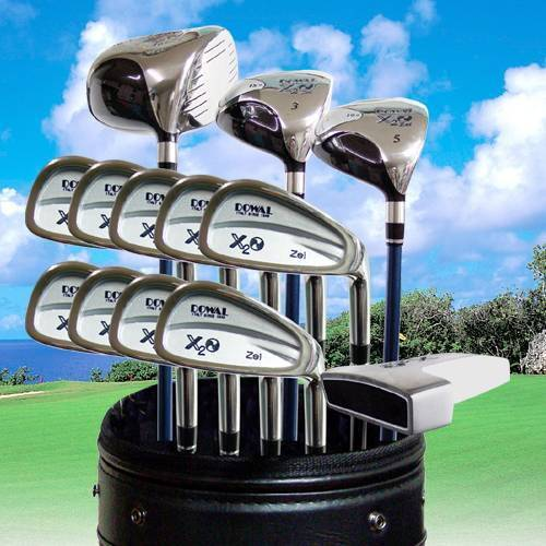 termozeta x2o-zei golf club, wood set, iron set-putter golf bags