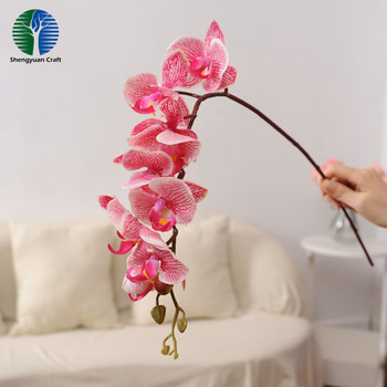 Fake decorative beautiful fake flower artificial orchid