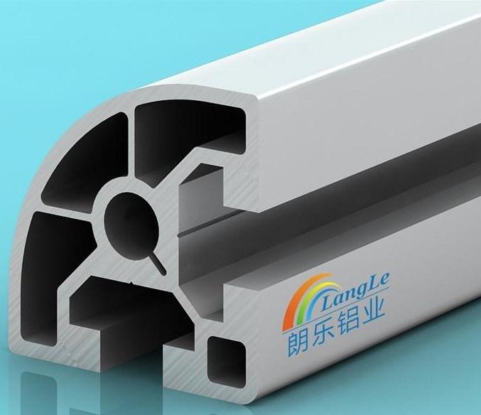 Best Sale Round Shaped Industrial Aluminium Profile