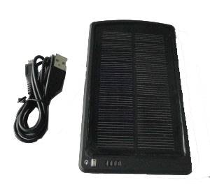 5V Lithium Ion Polymer Solar Powered Battery Charger MP-S3000B 3000mAh