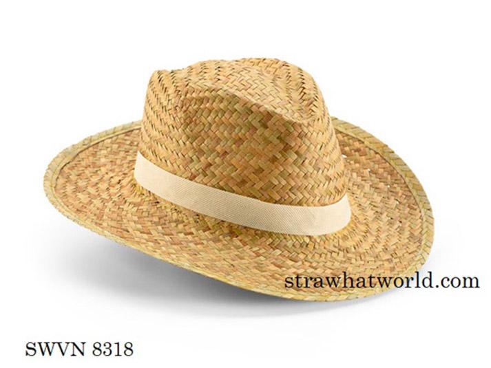 Promo Mafia Hat, Straw Hat for Pormotion
