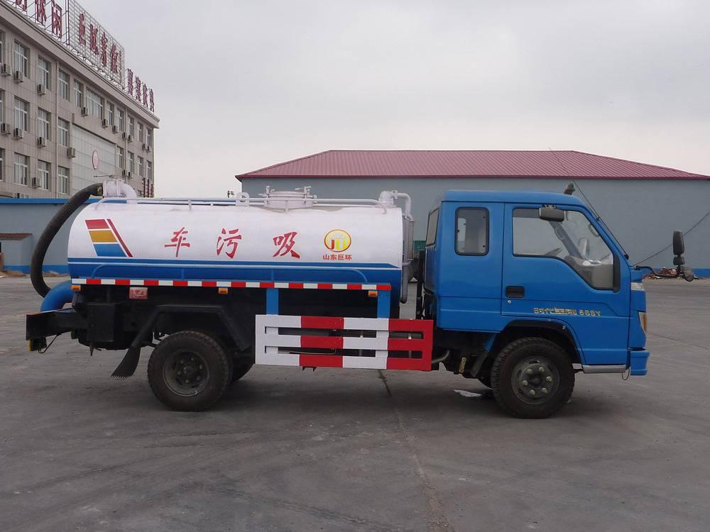New 5 m3 Model Sewage Vacuum/ Suction  Truck