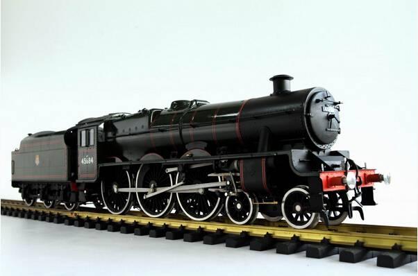Brass Electric British Jubilee Locomotive