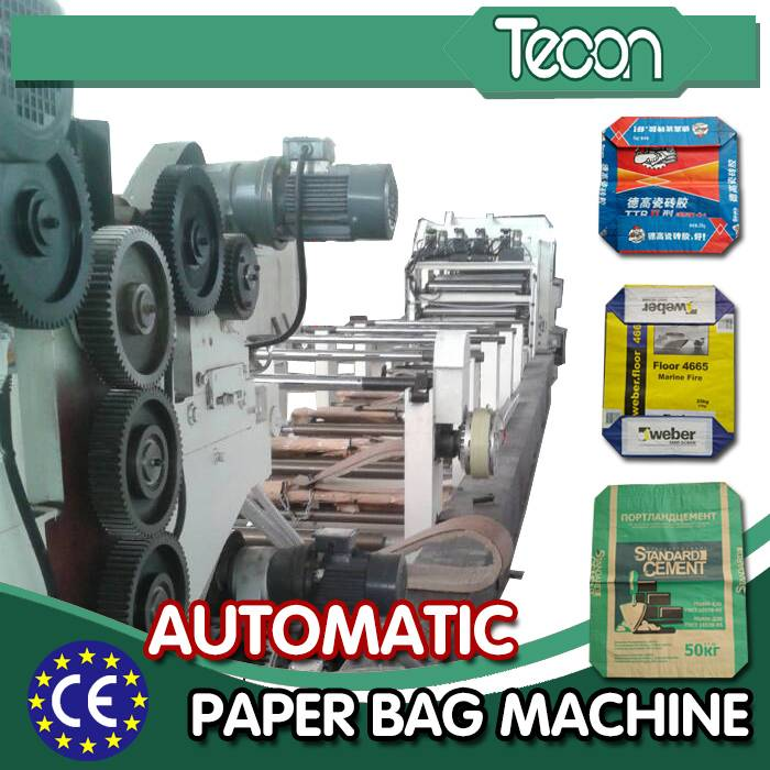 Full Automatic Paper Packaging Bag Making Machine