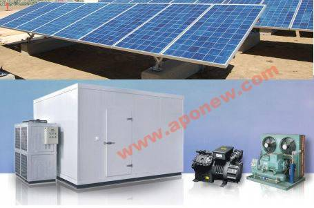 Solar Cold Room /  Modular Cold Room / Tunnel Freezer Room / CA Cold Storage / Combined Cold Room /