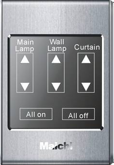 Intelligent Switch Controlling Lights and Electric Appliance (mc-618S)