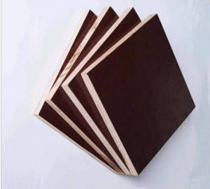 Cheap Price Black Film Faced Plywood for Construction