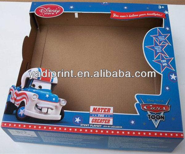 Small CMYK Printing Cardboard Box for Toy Packing
