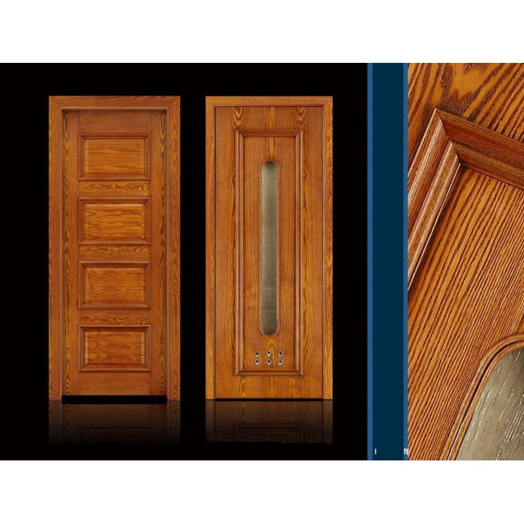 Classic design solid wood door for home WD022