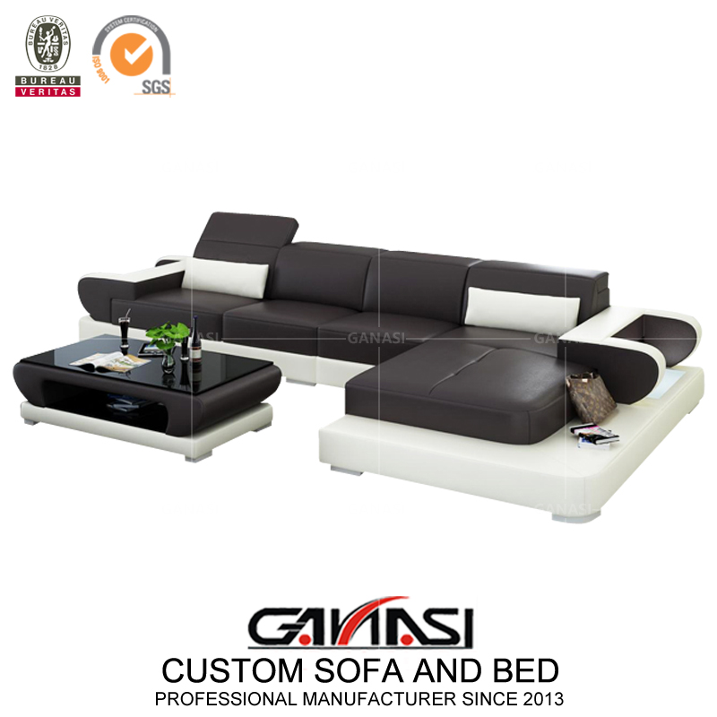 Italy New Design Home Furniture Leather Sofa Bed