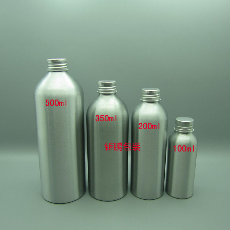 Aluminum Bottle With Aluminum Cover
