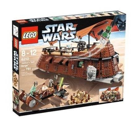 WHOLESALE LEGO Star Wars Jabbas Sail Barge 6210