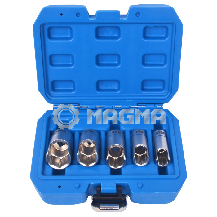 "5 PCS 3/8"" Elbow Connector Socket Set (MG50498)"
