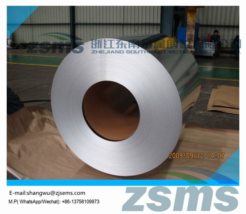 zinc coated steel sheets