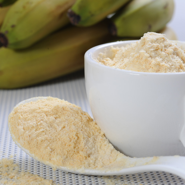 Banana Fruit Powder Rich Protein powder