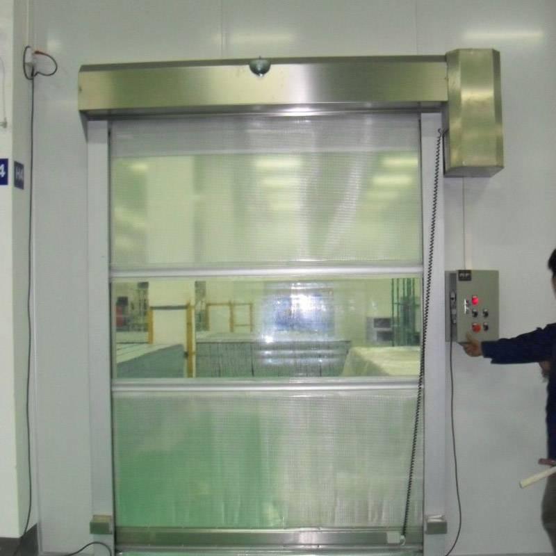 high transparency roll up door