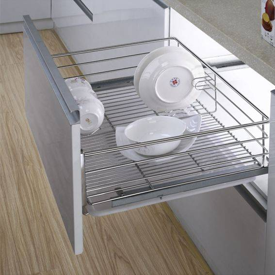 Multi-function Kitchen Drawer Basket for Dishes