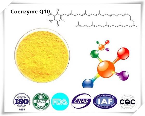 Coenzyme Q10 (CoQ10) 99.5% Cas number:303-98-0 HPLC 1kg/bag
