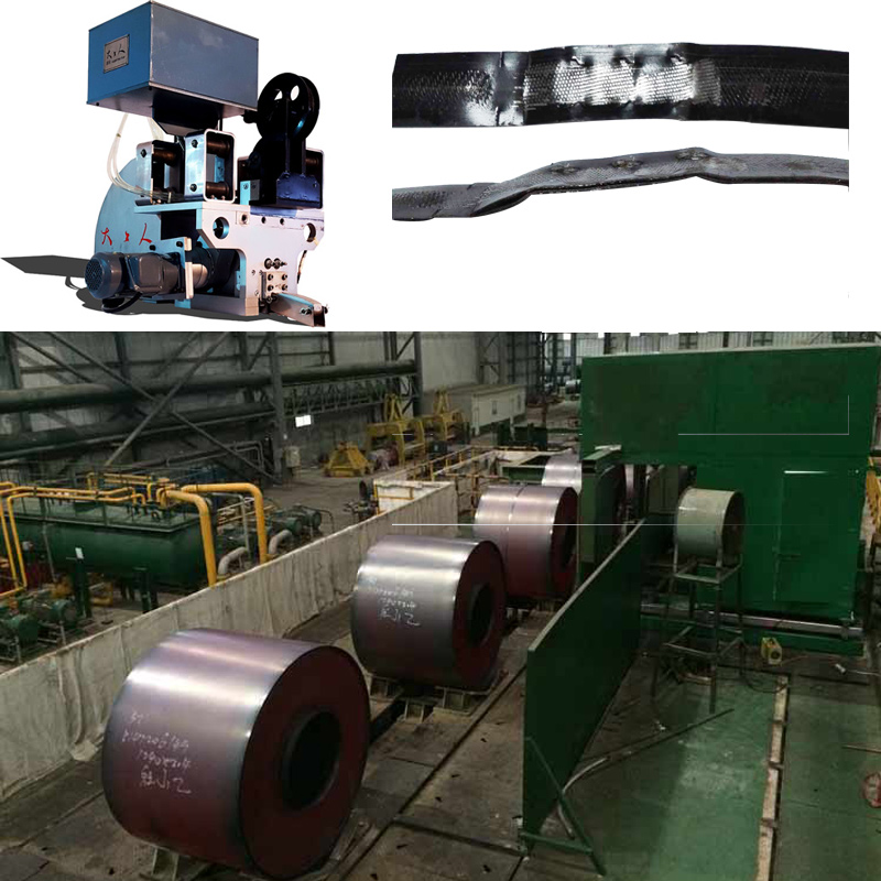Sealless Joint Automatic Steel Strapping Machine For Galvanized Coil Bundling
