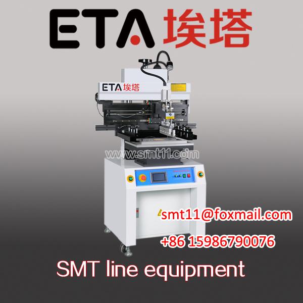 Semi-Auto SMT Solder Paste Printer in SMT LED Production Line