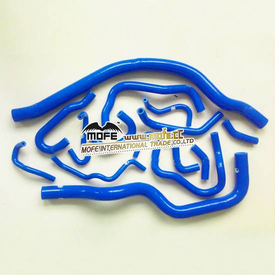 silicone radiator hose For Hondo S2000 15pcs