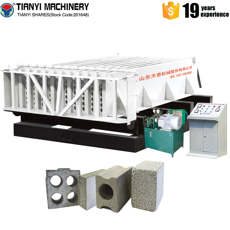 Cement lightweight wall panel production line
