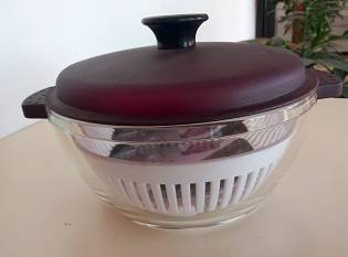 Borosilicate Glass POT