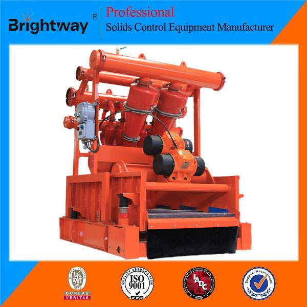 Brightway Solids Oilfield Drilling Fluids Mud Cleaner