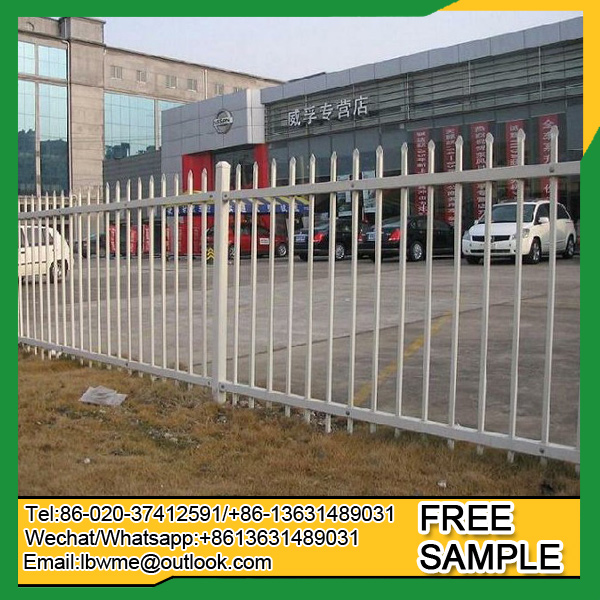 Cheap price Korea back yard fence Thailand steel fence experience exporter