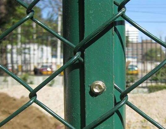 Hebei chain link fencing diamond wire fencing galvanized chain link fence
