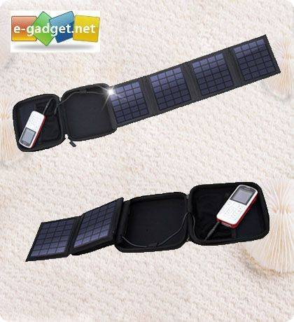 Foldable Solar Panel Charger in EVA case
