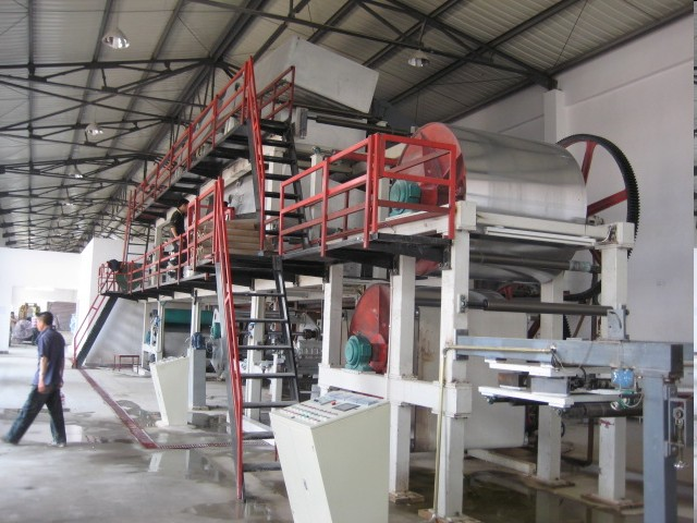 1400/300 carbonless paper coater