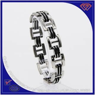 Antique style 316L stainless steel bracelet wholesaler