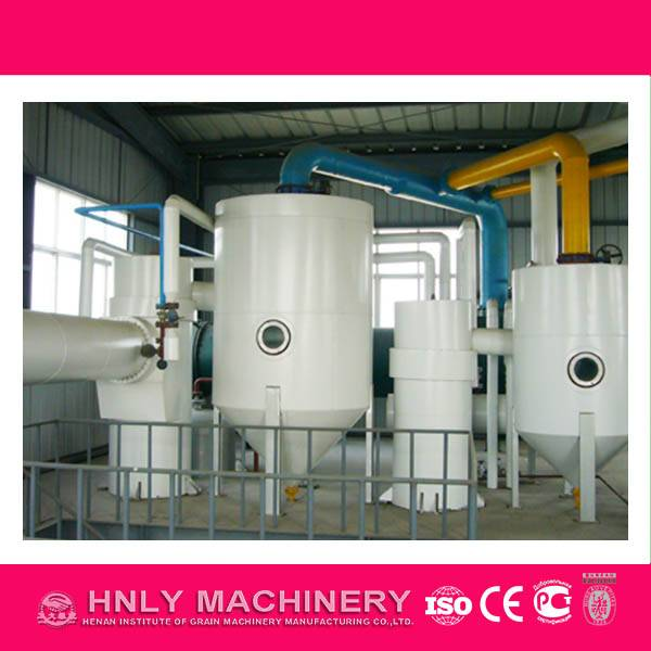 oil refinery machine in the oil production line