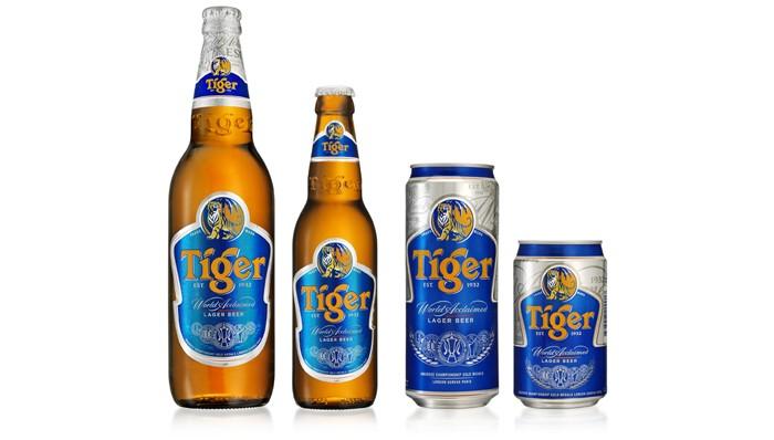 Tiger Beer, Corona Extra Beer, Stella Beer,