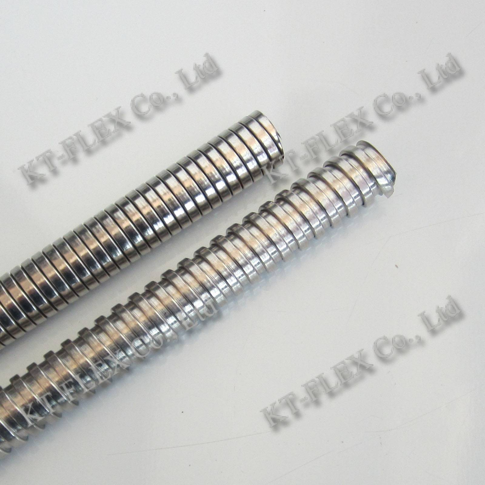 Interlocked metallic flexible electrical cable conduit SS304