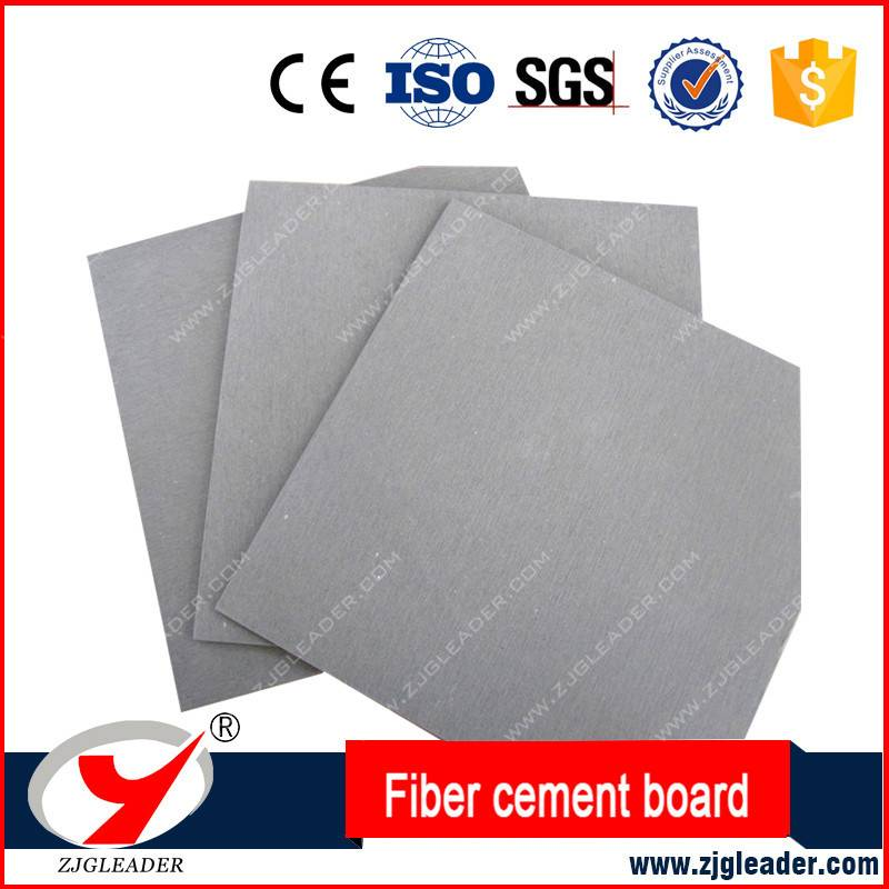 Grey fiber cement board