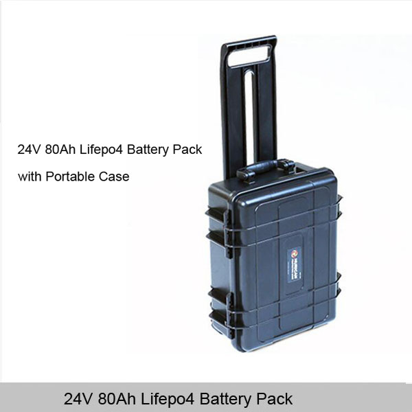 18650/26650 24v 100ah deep cycle lithium battery pack with waterproof case for solar street light